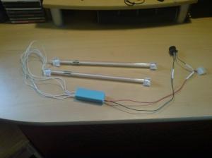DIY Cold Cathode Desk Light
