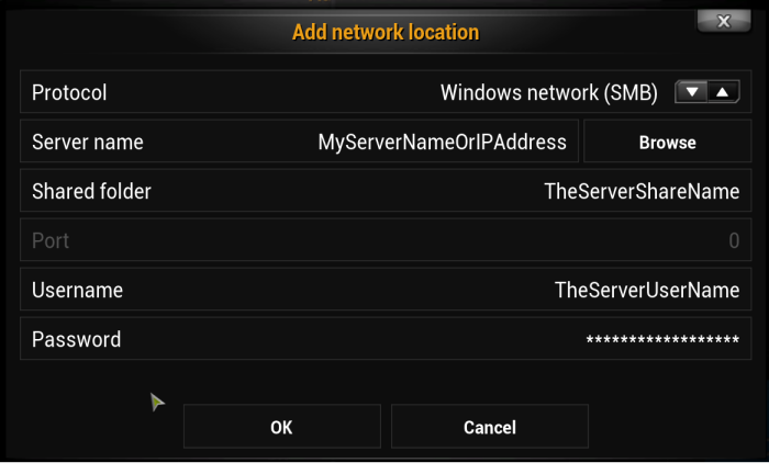 Addnetworklocation
